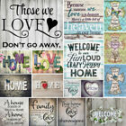 Full Drill Home Letter 5D Diamond Painting Cross Crafts Stitch Embroidery Decor