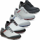 Ecco Mens Cage Hydromax Leather Upper Spiked Golf Shoes 30% OFF RRP
