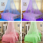 Round Dome Mosquito Net Bed Home Bedding Elegant Lace Canopy Netting USA STOCK image