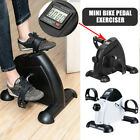 Home Office Mini Cycle Pedal Exerciser Exercise Bike Arm Leg Workout Fitness Gym, used for sale  Shipping to Nigeria