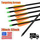 Archery Targeting Arrows Fit Youth Compound Bows Shooting Practice 28-32 inch