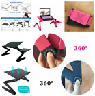 Adjustable Computer Table Stand Folding Laptop Desk Bed Tray Home Accessories
