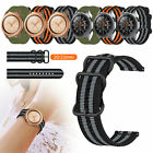 Woven Nylon Sprots Band Strap Replacement Wristband For Samsung Galaxy Watch New