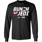 Bunch Of Jedi Carolina Hurricanes Star Wars Inspired Bunch Of Jerks Long T-Shirt $27.95 USD on eBay