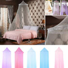 Bedroom Elegant Bed Lace Mosquito Netting Mesh Canopy Princess Round Bedding Net image