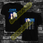 Cher t Shirt Here We Go Again Tour Dates 2019-2020 T-Shirt All Size  image