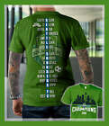 Seattle Sounders MLS 2019 Champions Cup T-Shirt Two Sides Green image