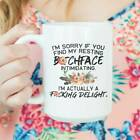 A Cute Gift For Your Loved One - Find My Resting - Bitch Face - 11oz & 15oz Mug
