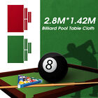 Durable Pool Table Cloth Felt W/ 6x Strips For 9FT Snooker Pool Billiards Table $38.29 USD on eBay