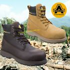 Amblers Pro Steel Toe Work Safety Boots Hiker AS170 WorkFlex Sole Brown or Honey