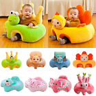 Baby Sofa Support Seat Cover Soft Plush Chair Learn To Sit Up Cushion Colorful