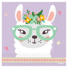 Llama Birthday Birthday Party Range - Tableware Supplies Decorations