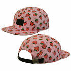 Vans Off The Wall Gwen Camper Womens Pink Strawberries Baseball Cap 22HIJS A27A