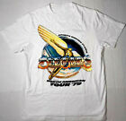 Reprint Bee Gees World Tour Band Vintage Cotton White Men S-4XL T-Shirt K1037 image