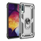 For Samsung Galaxy A10A20eA30A50A70 Ring Case Shockproof Armor Stand Cover Shell