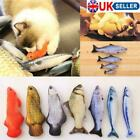 Pet Cat Toys Catnip Simulation Fish Interactive Chewing Playing Sleeping Toy