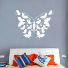 Wall Stickers Living Room Butterfly Shaped Mural Removable Home Decoration Ks