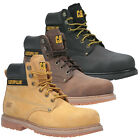 Mens Caterpillar Steel Toe Cap Safety Powerplant Boots CAT Work Boots Size 6-13