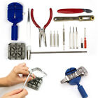 Watch Repair Tool Kit Remover Case Opener Link Spring Bar Back Pin with Case