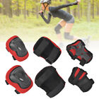 6x Adult Roller Skating Protective Gear Set Knee Pads Elbow Pads Wrist Guards image