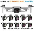 For MAVIC Mini Drone Accessories ND4/8/16/32 UV CPL Lens Filter Optical Glass