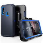 For Samsung Galaxy A01/A20/A50 Heavy Duty Case+Belt Clip fits Otterbox Defender