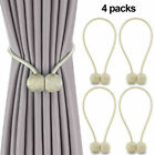 Kyпить 2/4 Pack Curtain Tie Backs Magnetic Ball Buckle Holder Tieback Clips Home Window на еВаy.соm