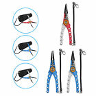 """Fishing Pliers 7.8"""" Saltwater Stainless Steel Tool Hook Remover Braid Cutter New"""