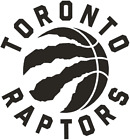 Toronto Raptors Vinyl Decal Car Window  You Pick The Size & Color on eBay