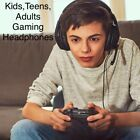 Kids Teens Adults Gaming Headsets Headphones For PS4 Xbox One Nintendo Switch PC