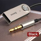 Baseus 3.5mm Aux Bluetooth 5.0 Receiver Car USB Dongle Cable Adapter Transmitter