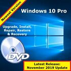 Windows 10 Upgrade Disc for Windows 7 & 8.1 Pro - Repair Restore Recovery DVD