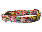 SPIFFY POOCHES Dog Cat Collar  Flowers Skulls  ~BUY ONE GET ONE HALF PRICE~