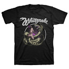 Whitesnake Band Love Hunter Cotton Black Men T-shirt S-4XL YY237 image