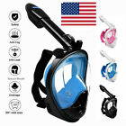 Kyпить Full Face Snorkeling Scuba Goggle Anti-Fog Swimming Mask For Kids Adult S/M/L/XL на еВаy.соm