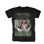 Cannibal Corpse Band Reprint Cotton Black Men T-shirt S-4XL YY249 image