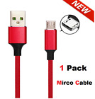 Heavy Duty Charging Phone Type C Micro USB Cable For Android LG Samsung Charger