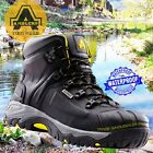 Amblers Waterproof Breathable S3 Wide Fit Safety Work Boots Black AS803 Broad