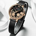 Quartz Women Watch Curren Stainless Steel Wrist Watches Ladies Gold Analog Dial image