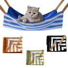 LD_ EG_ PET CAT HAMMOCK SOFT PLUSH BED ANIMAL HANGING DOG CAGE CUSHION COMFORT