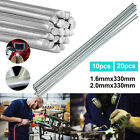 US Easy Aluminum Welding Rods Low Temperature Wire Brazing–10/20/40PCS 1.6mm/2mm