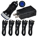 For HTC U12+ Bolt U11+ Life Moto G6 Fast Car Wall Cell Phone Charger USB C Cable