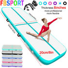 20cm 3-12M Airtrack Inflatable Air Track Floor Gymnastics Home Tumbling Mat+Pump image