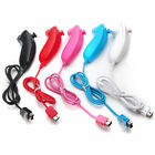 Wired Game Controllers For the Nintendo Wii/Wii U Remote Game Console Nunchuck