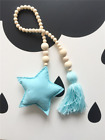 Children's Baby Wooden Ornaments Props Room Hanging Decorations Moon Star Hearts