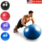 Yoga Ball w Air Pump Anti Burst Exercise Balance Workout Stability Gymnastic 55 image