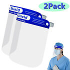 Disposable Safety Face Shield Fluid Resistant Full Case Visor Protection Goggles