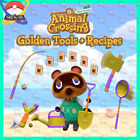 Animal Crossing New Horizons   Golden Tools  Recipes   Fast Delivery
