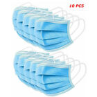 10/50 Disposable Face Mask Beauty Surgical Medical Masks 3ply Face Shield Cover