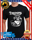New Triumph Engine Motorcycle Biker T-shirts Tee S-3XL US 100% cotton trend 2020 $16.95 USD on eBay
